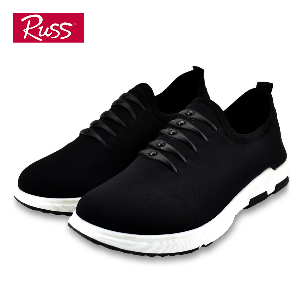 Russ Mens Sneakers - SMQ88032T7 (Black)