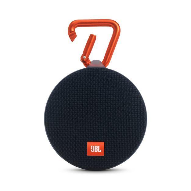 JBL Clip2 Portable Splashproof Bluetooth Speaker (Black)