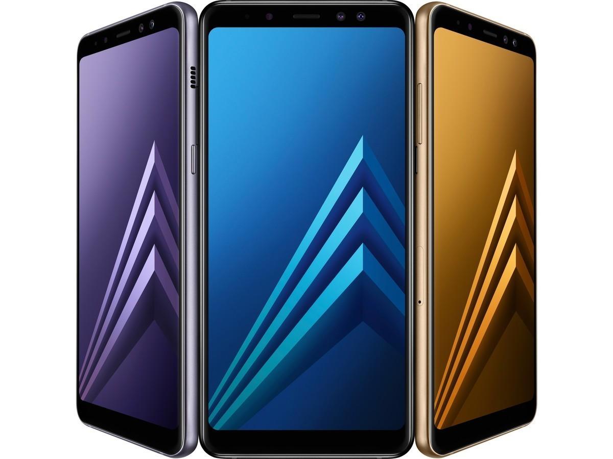 New! Samsung Galaxy A8 Plus 2018