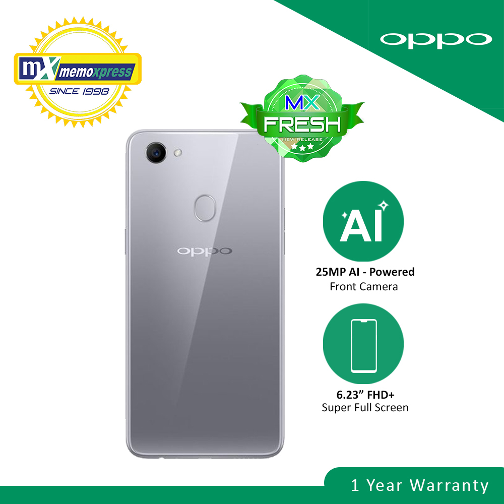 OPPO F7 64GB Solar Red
