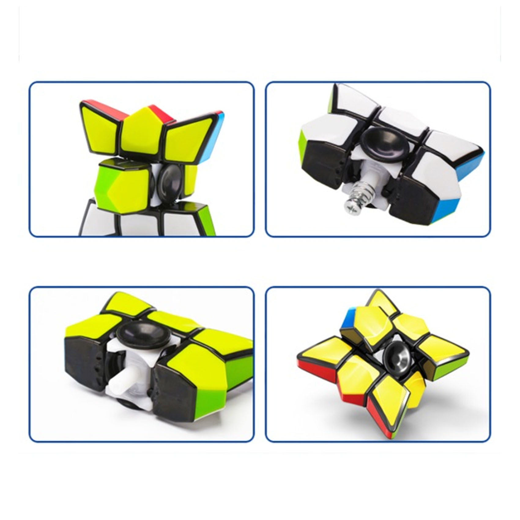Finger Spinner Magic Cube Puzzle