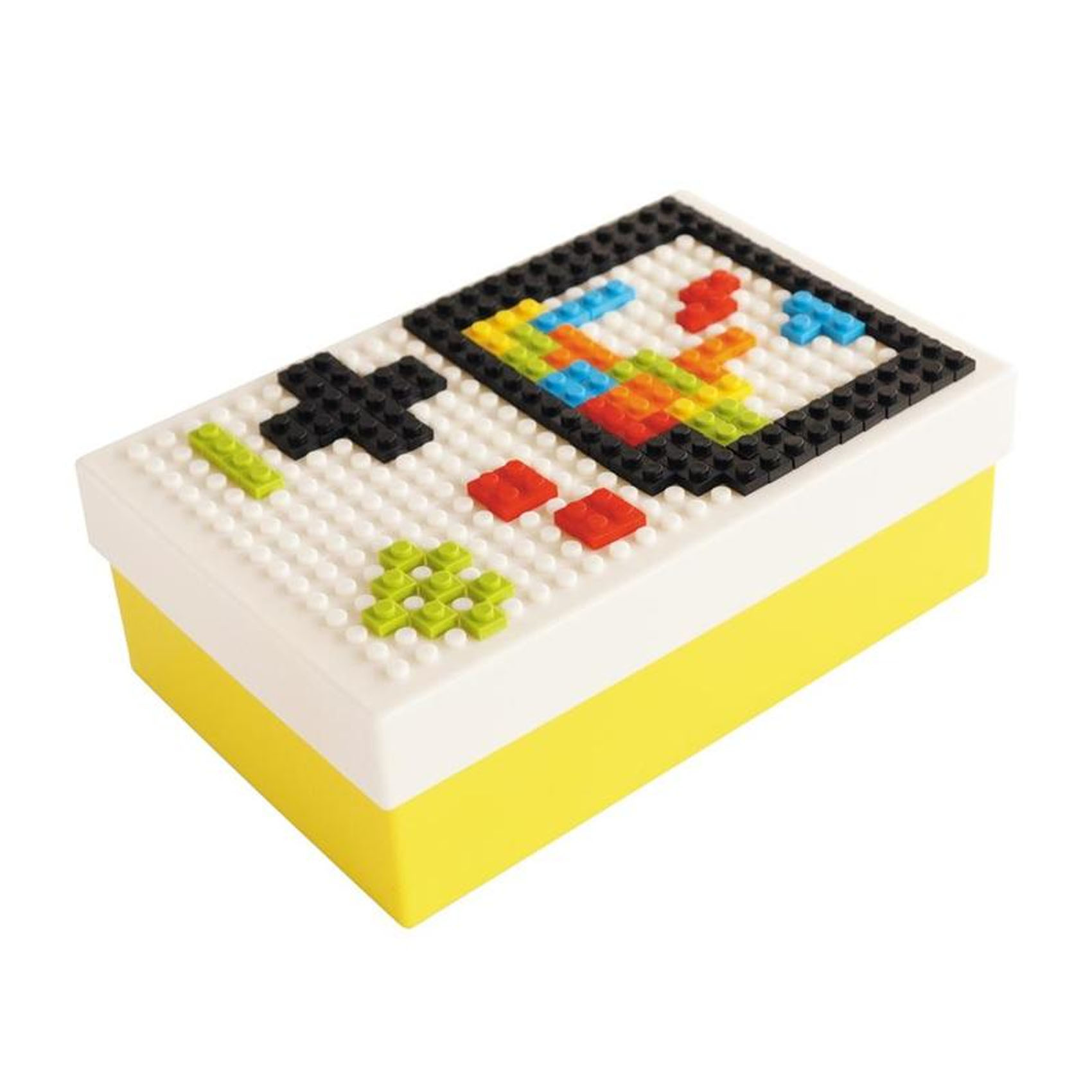 DIY Building Blocks Lunch Box
