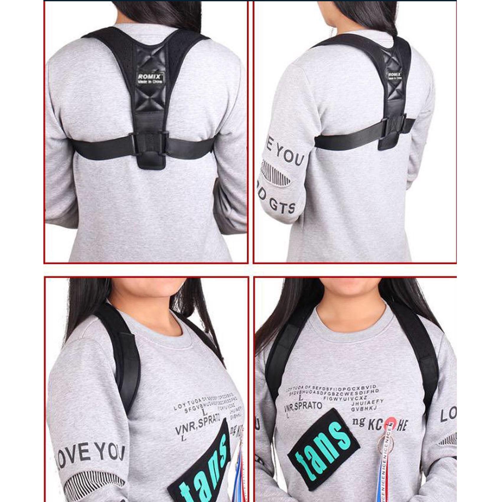 Posture Corrector Support Brace - Black