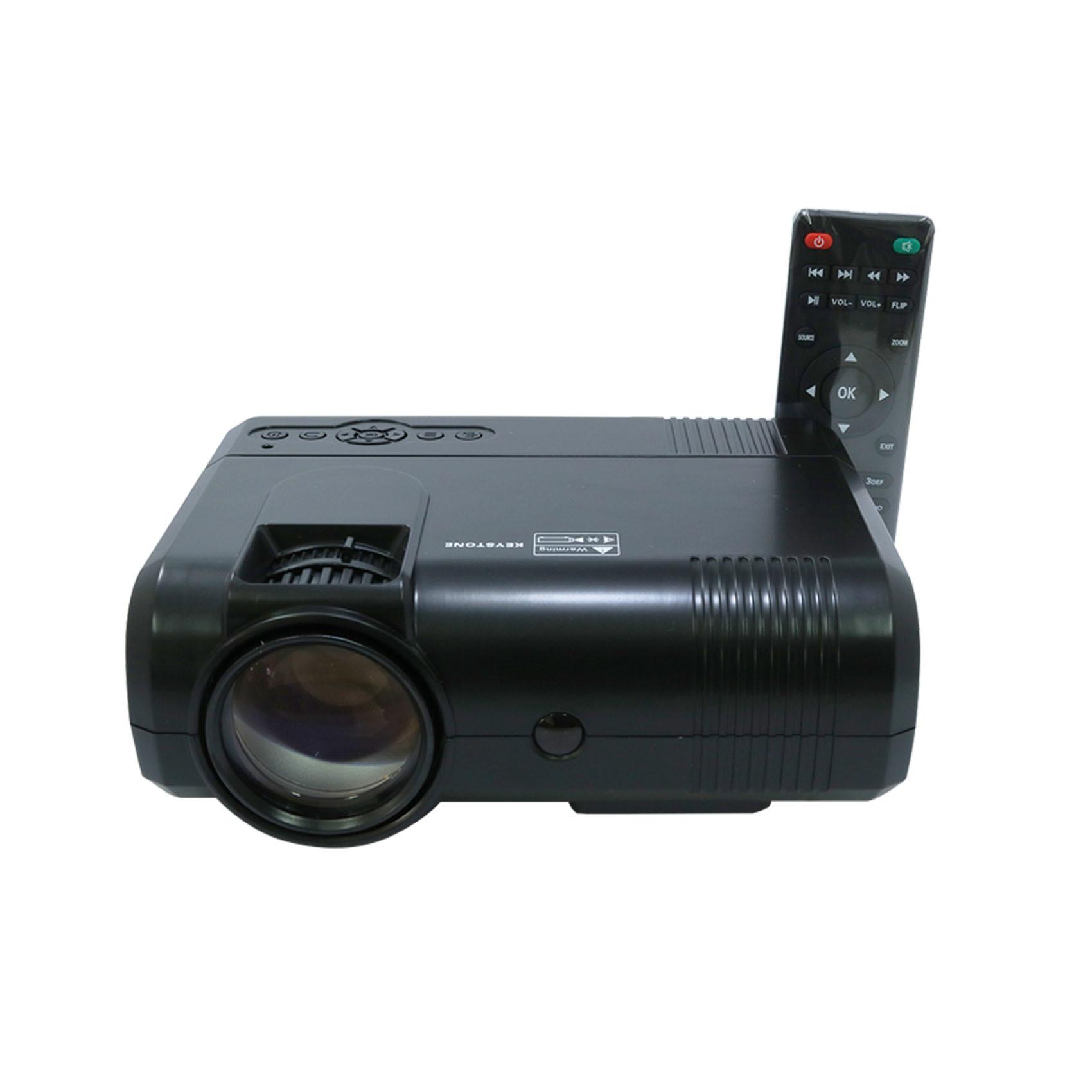 L8 Multimedia LED Projector - Black