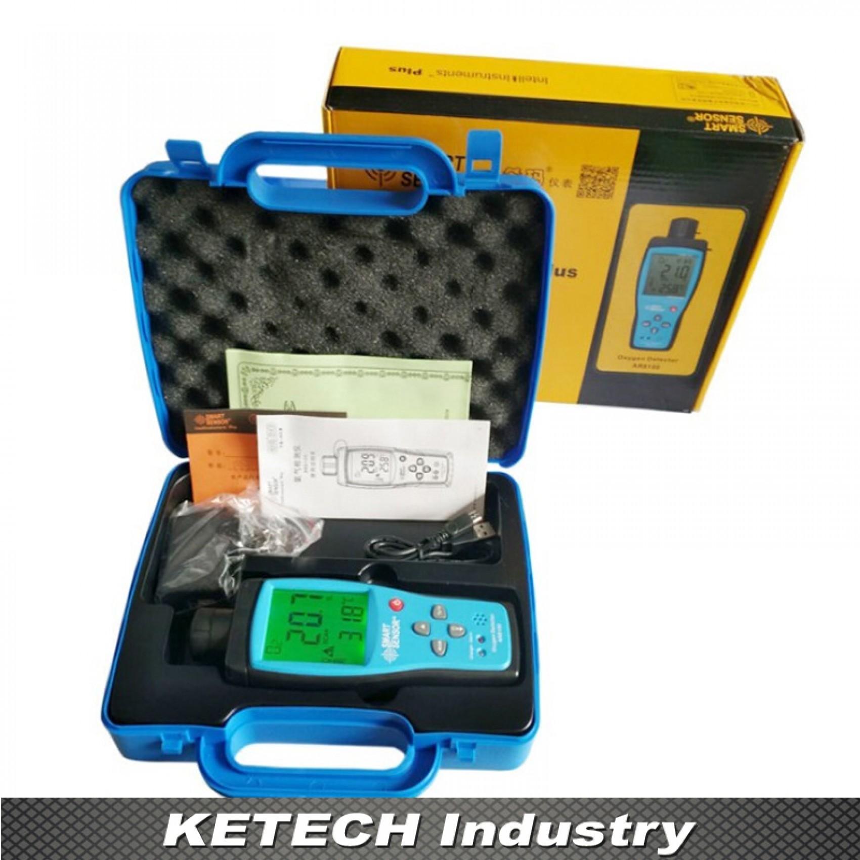 Smart Sensor Oxygen Detector AR-8100 - Blue