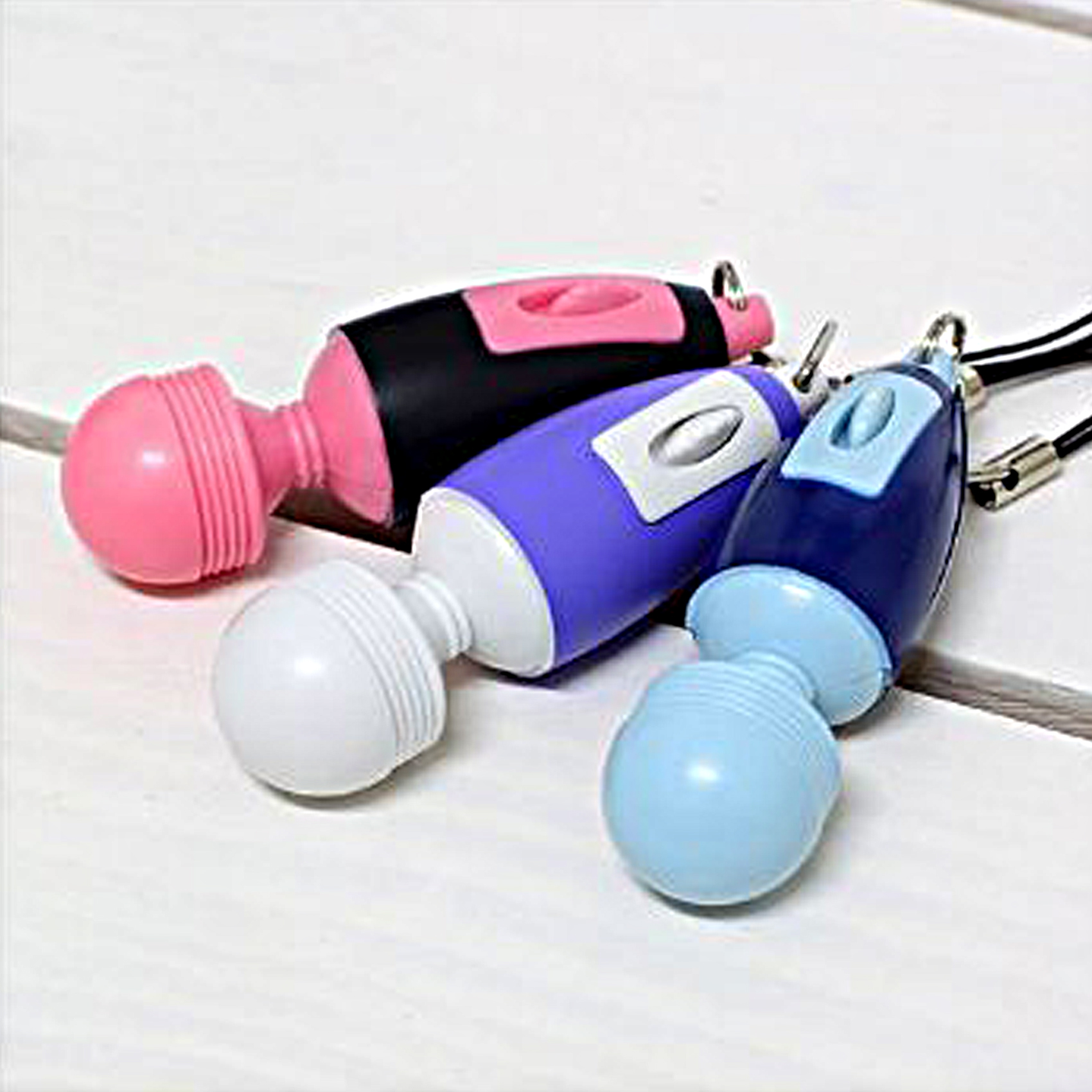 Mini Electric Massage Stick - Pink
