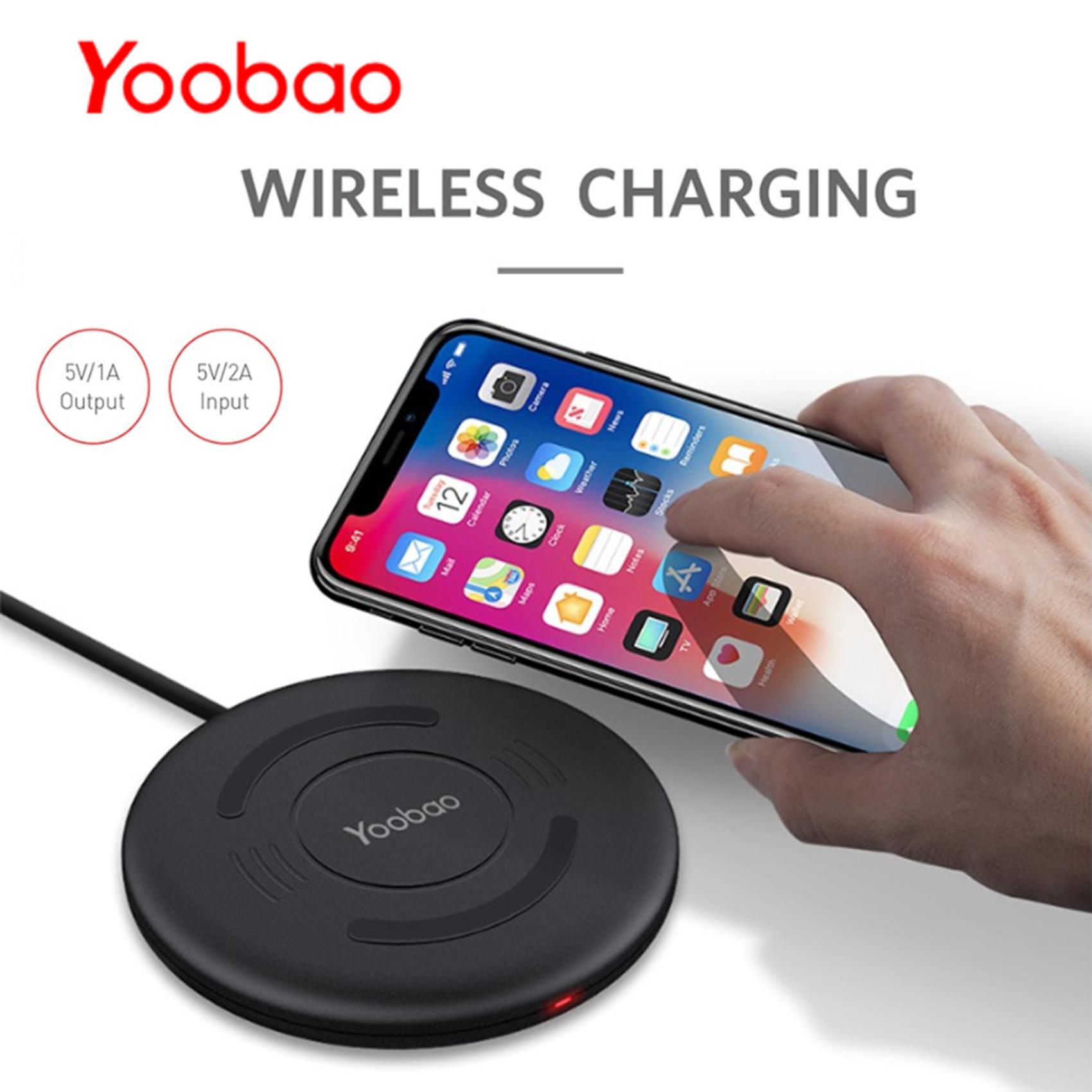 Yoobao D1 Wireless Charging Pad - Black