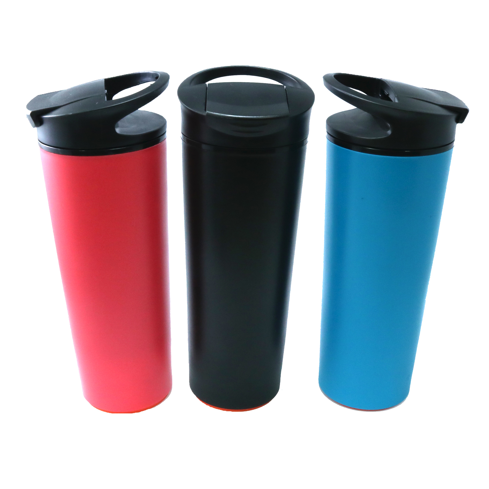 540 ml Spill Free Double Walled Vacuum Tumbler  - Blue