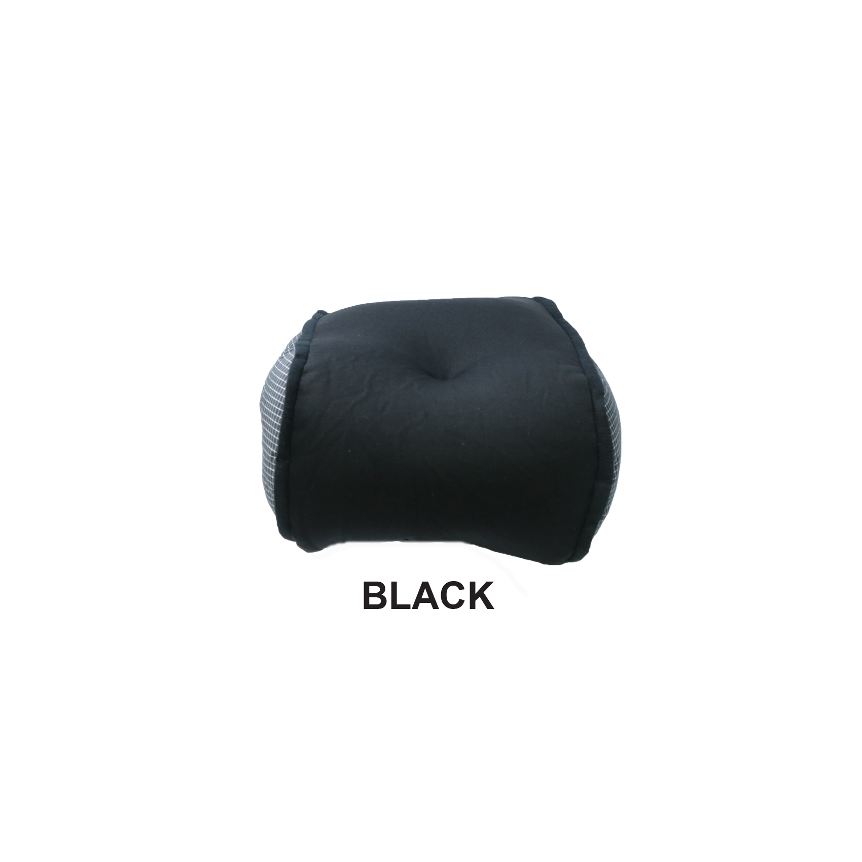 Vibrating Microbead Massage Pillow - Black