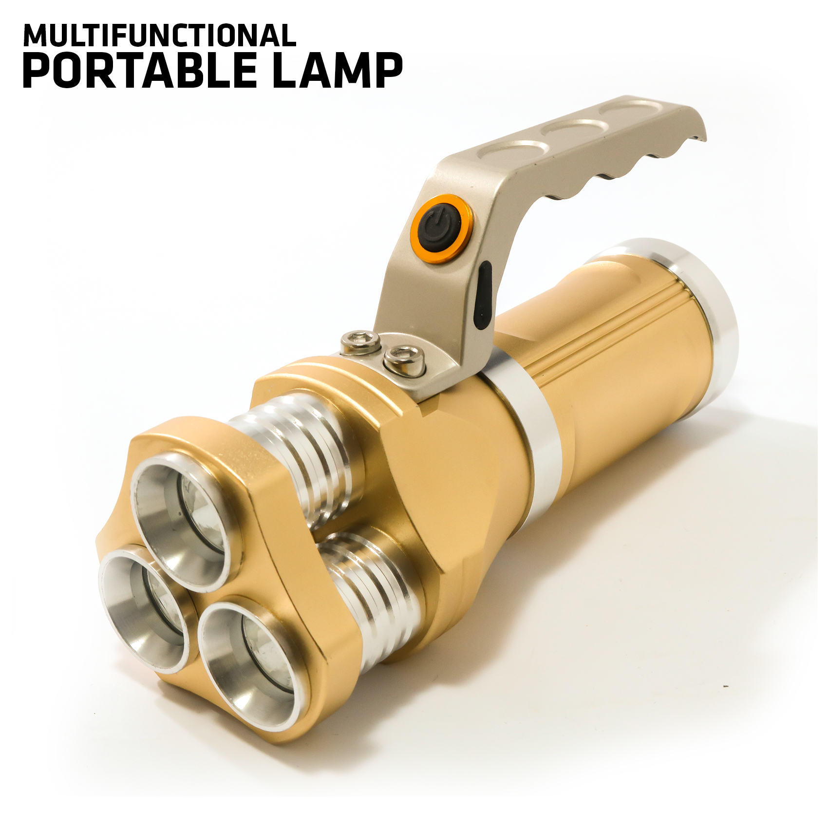 High Power 800 Lumens Stainless LED Light - Yellow