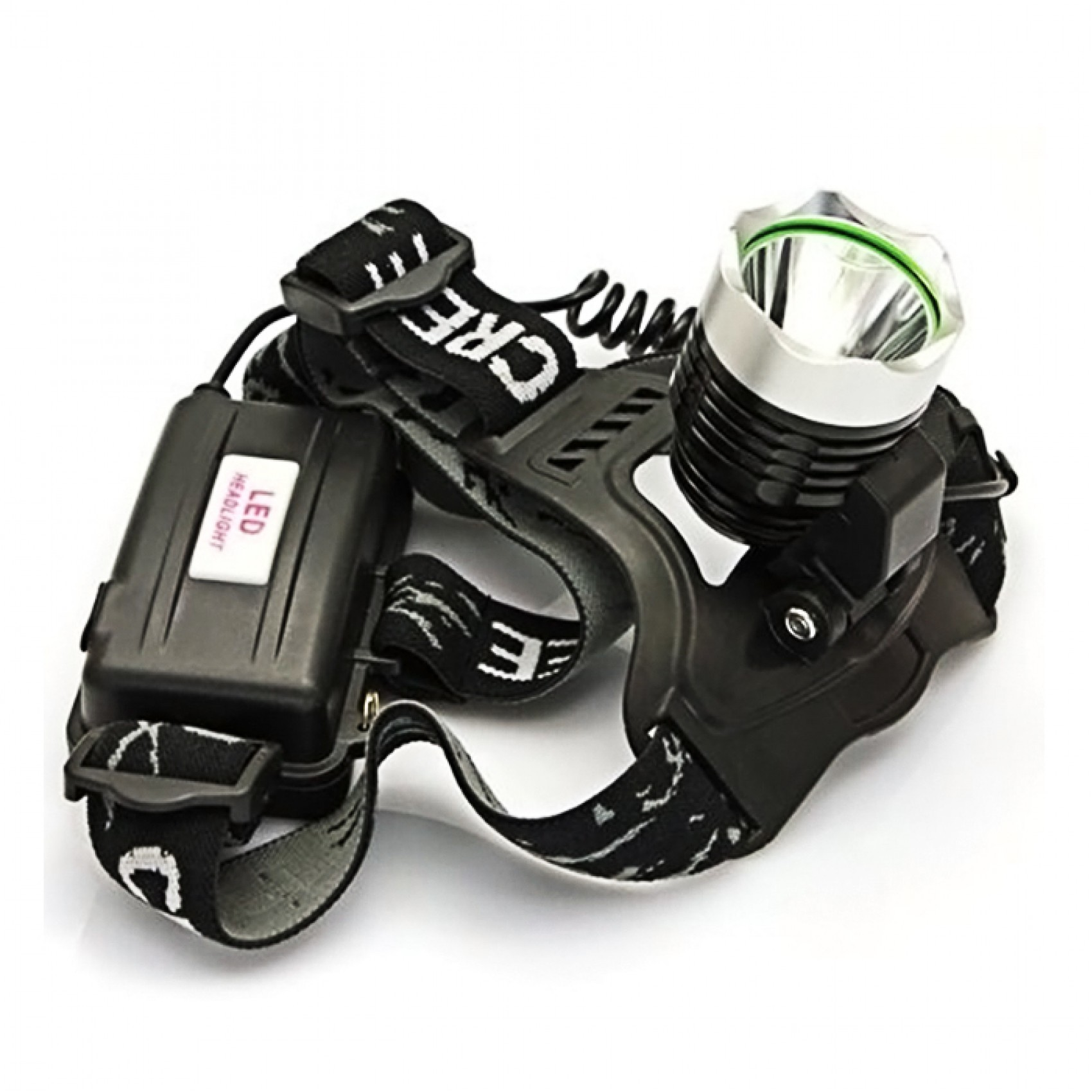 High Power Headlamps - Black