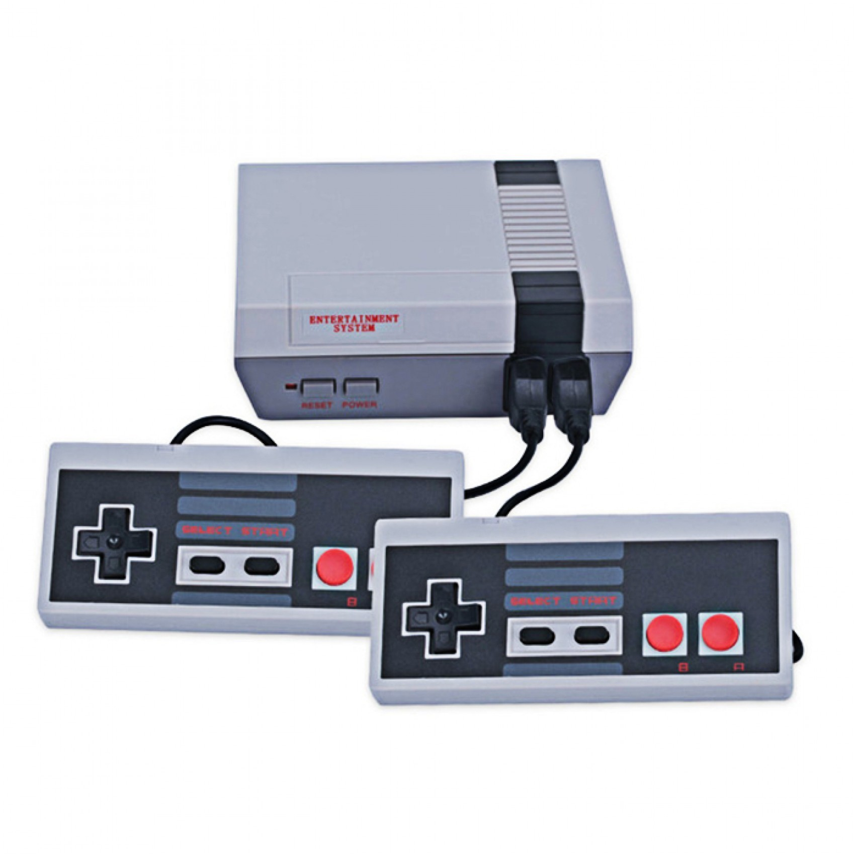 NES Mini Game Anniversary Edition Entertainment System with 620 Built-In Classic Games - White