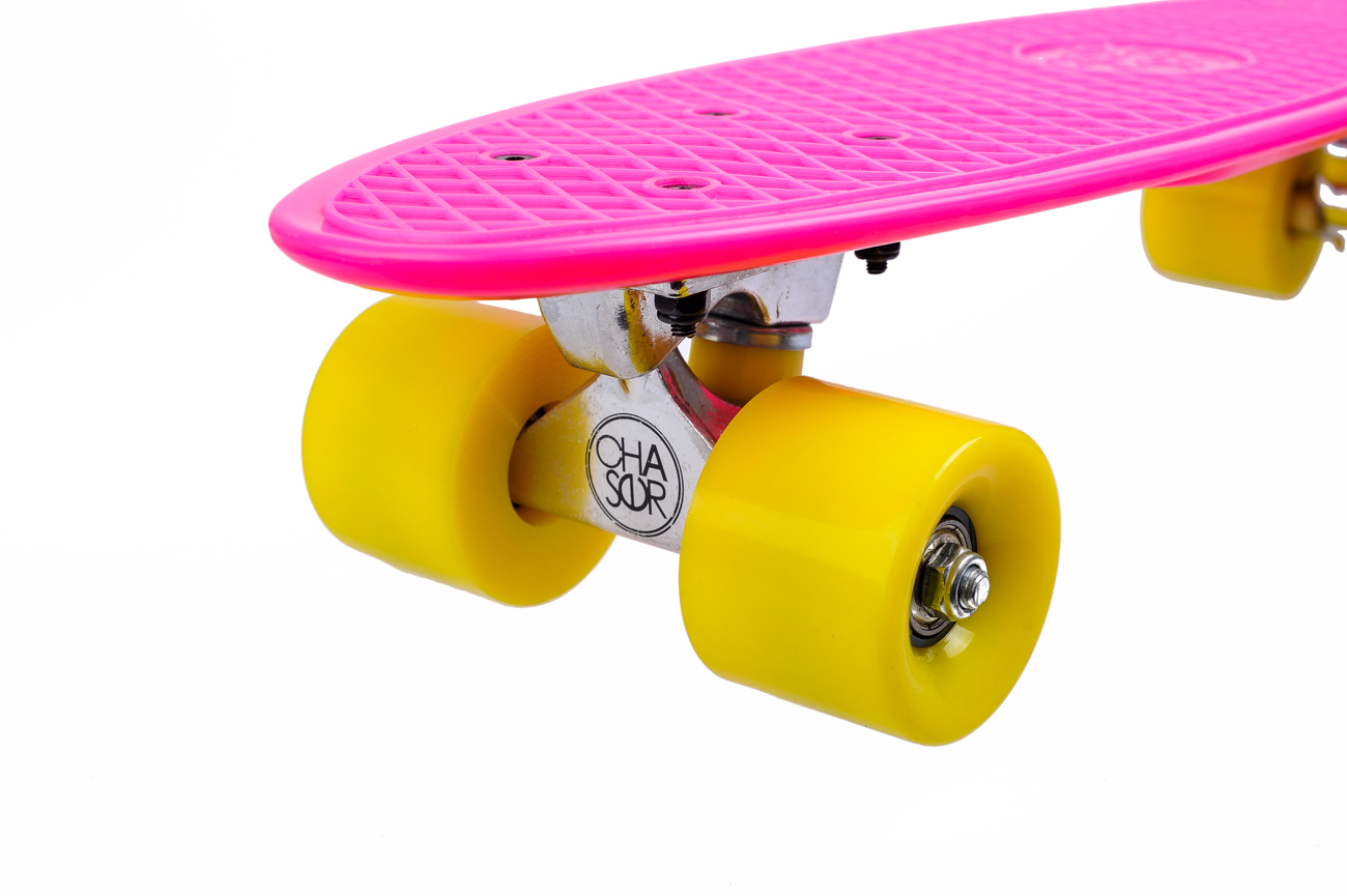 "CS 22"" RETRO CRUISER-PINK/YELLOW"