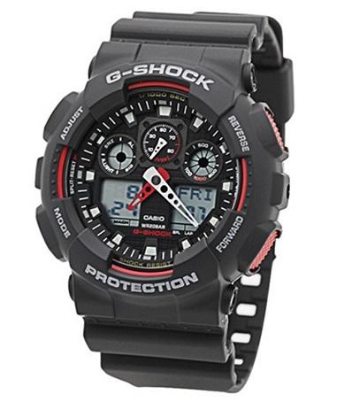 CASIO G-SHOCK WATCH (GA-100-1A4DR)