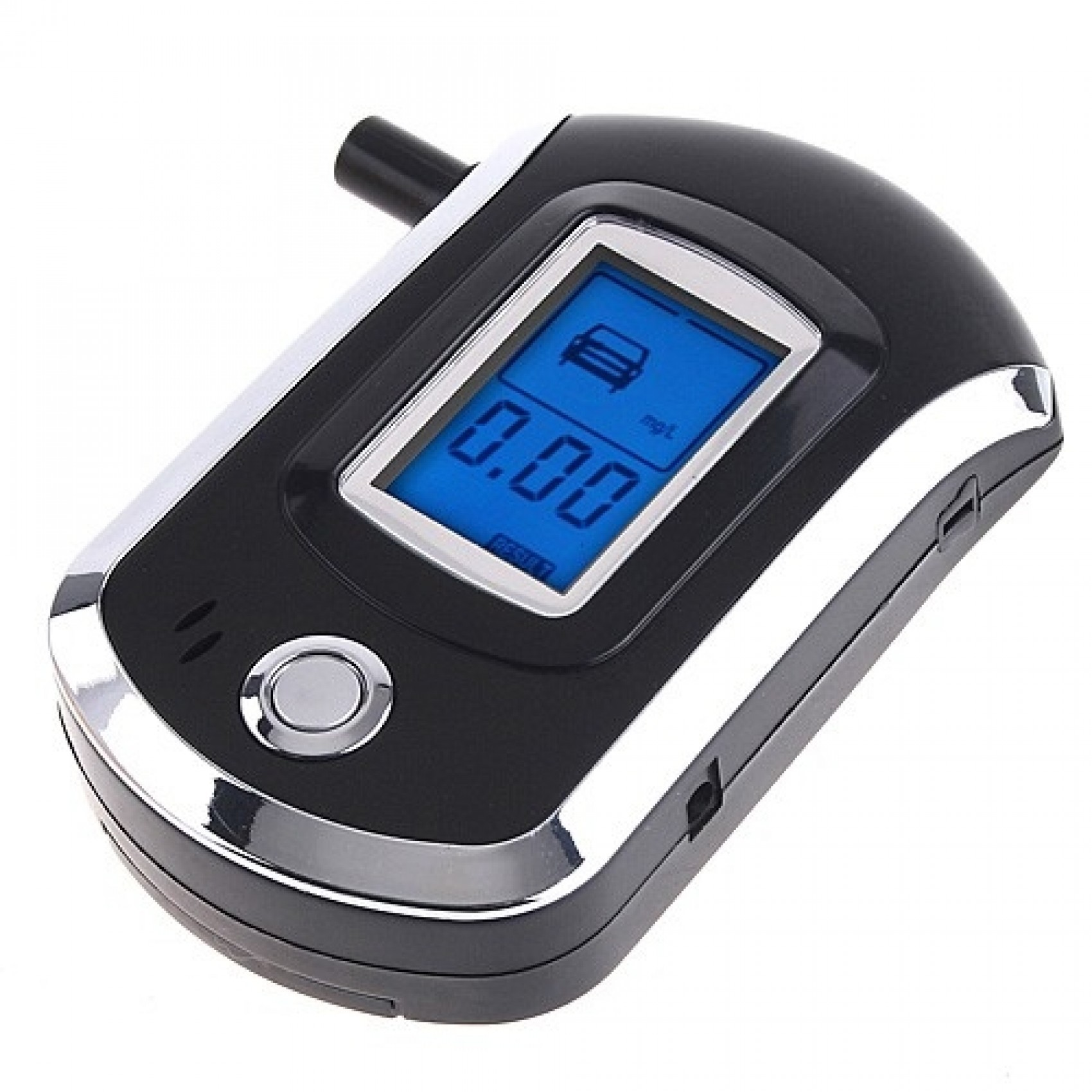 Digital LCD Breathalyzer Alcohol Breath Tester