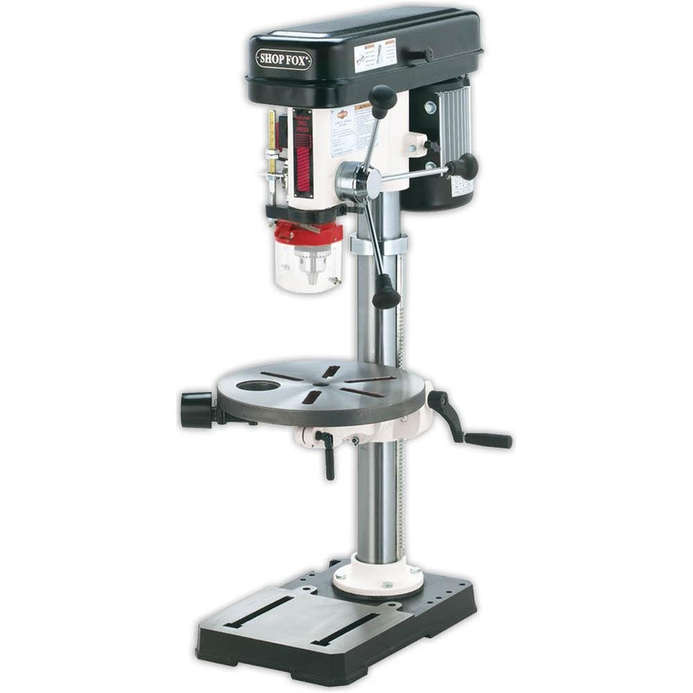 Shop Fox W1668 190 Hp 13 Inch Bench Top Drill Press Spindle