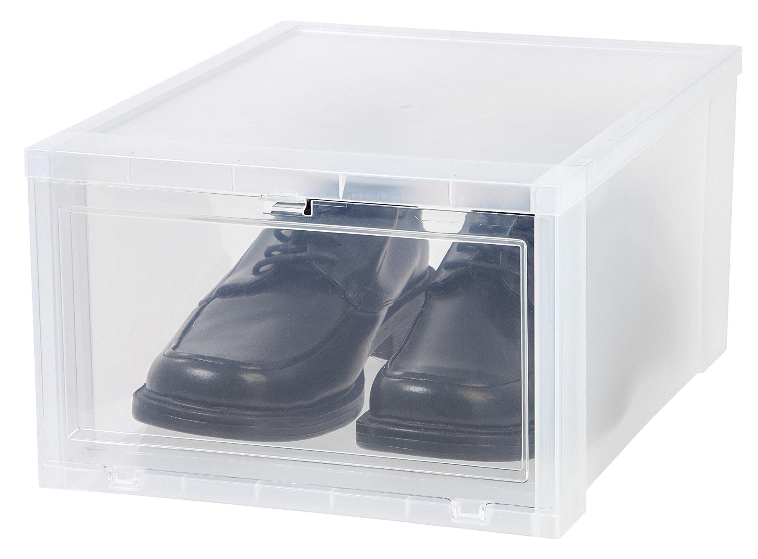 Iris Large Drop Front Shoe Box
