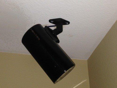 Ez Mounts 2 Black Universal Satellite Speaker Mounts