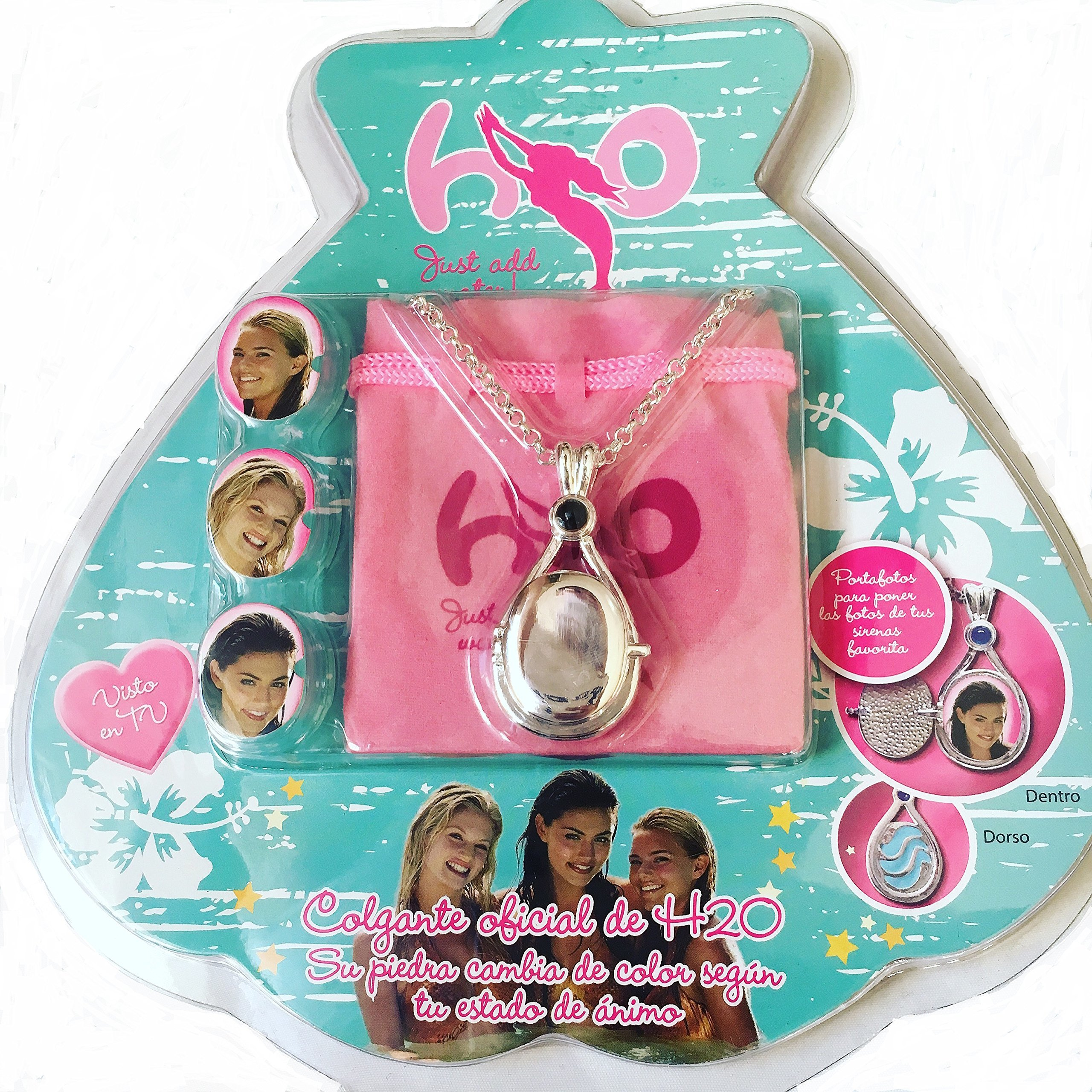 H2o just add water necklace locket pendant official for H2o add water