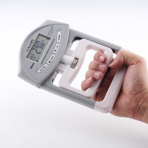 Hand Dynamometer Test : Camry lbs kgs digital hand dynamometer grip