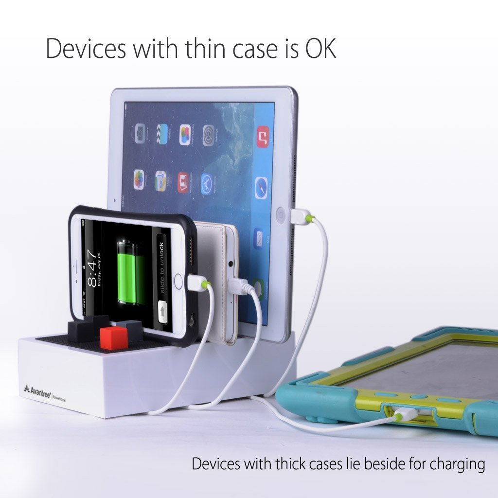 multiple iphone charging station avantree desktop usb charging station for devices 15718