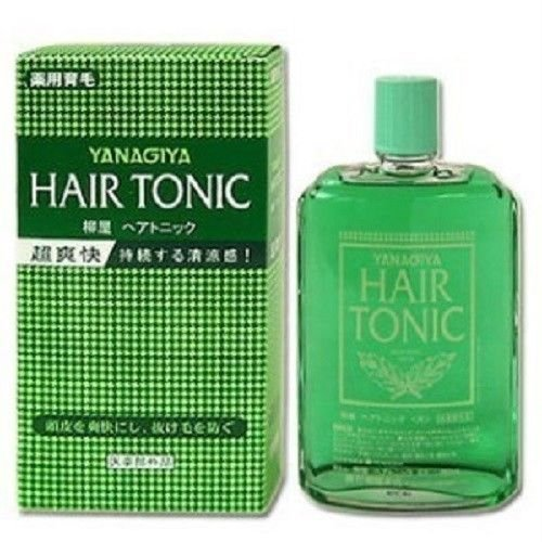 Men Hair Tonic 1950s: Japanese Men's Hair Tonic Yanagiya 360ml Shipping Fast