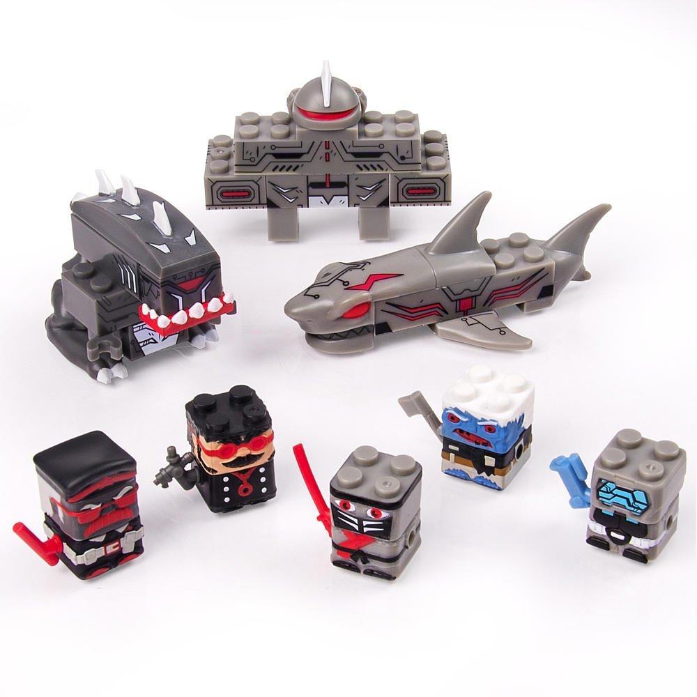 Sick Bricks Sharkinator Playset Toys R Us Exclusive Pack of 2