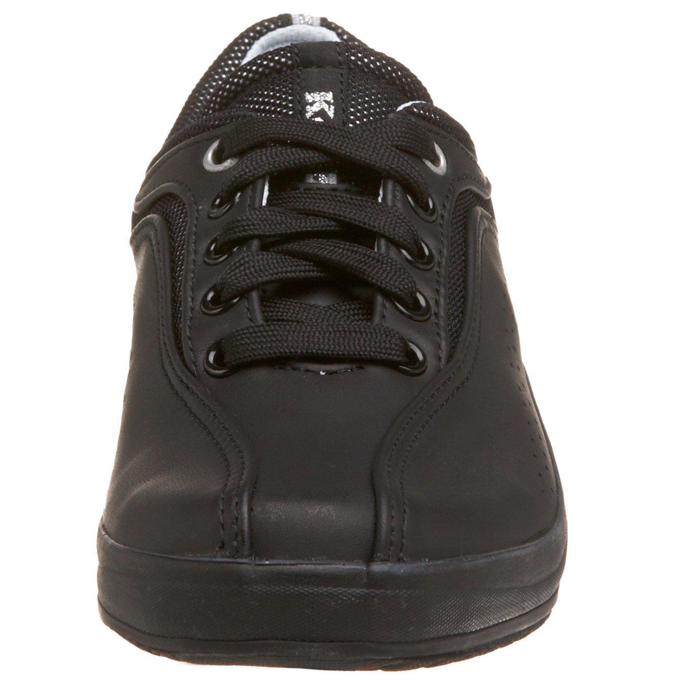 keds spirit leather sneaker black