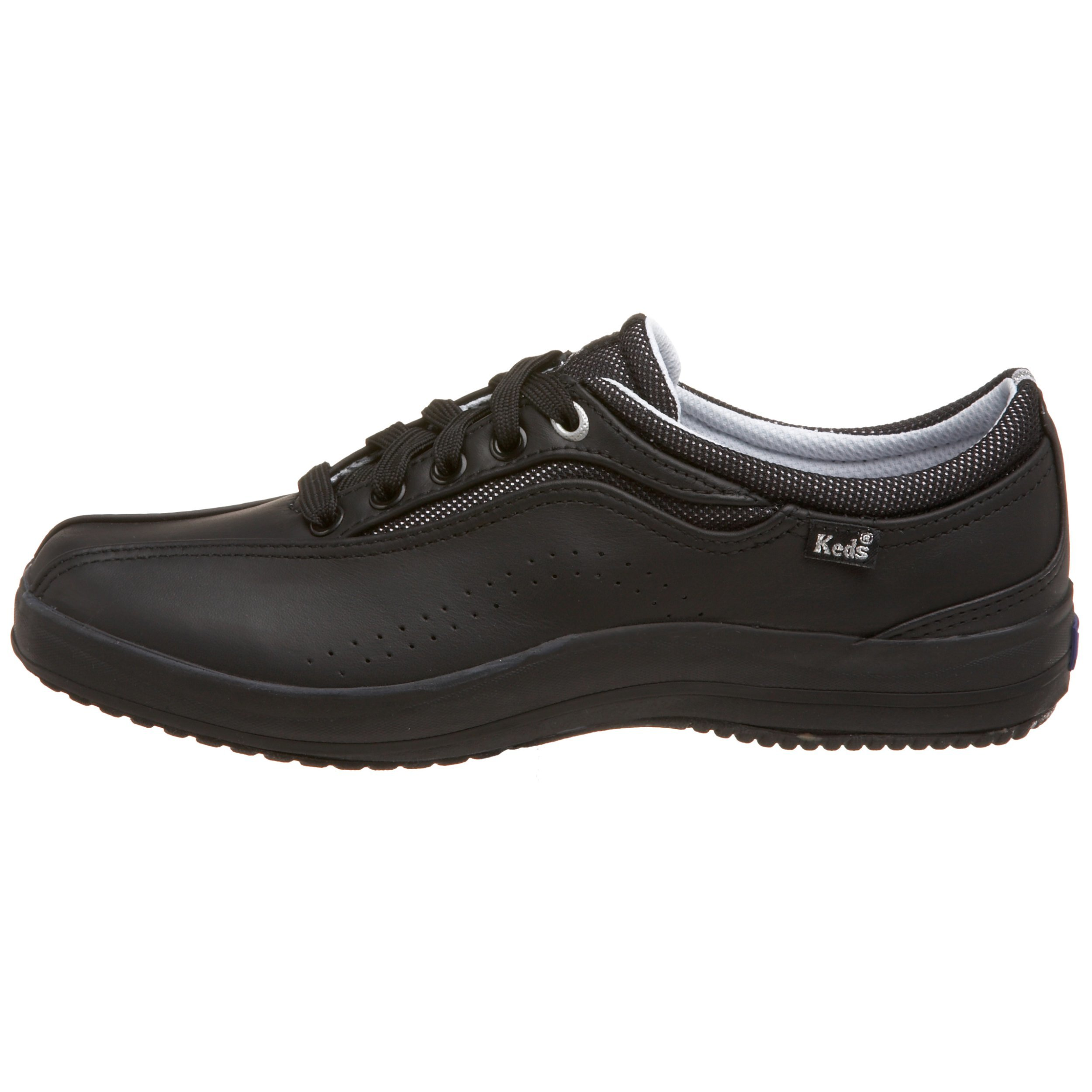 keds spirit leather sneakers black