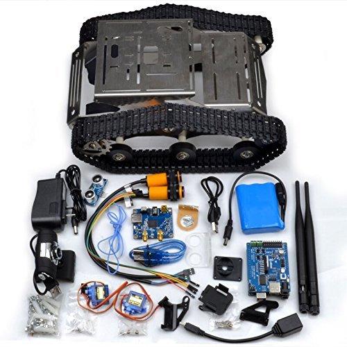 Kuman sm th wireless wifi robot car kit for arduino