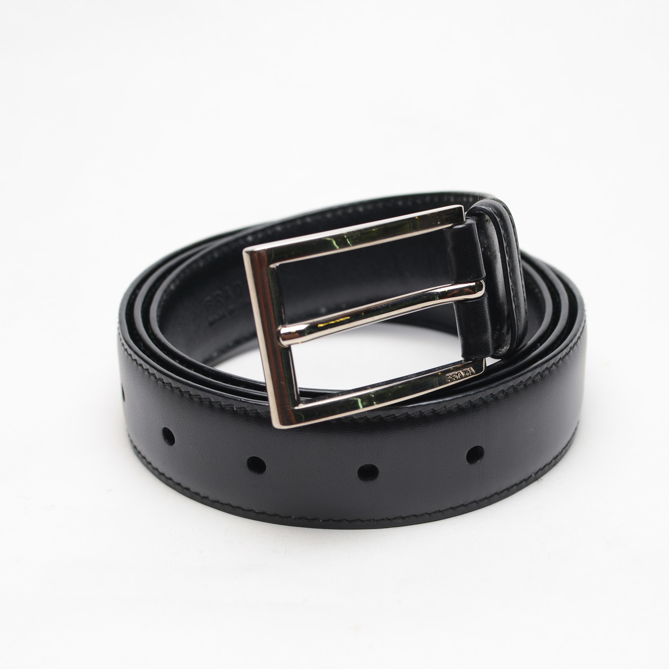 Prada Men\u0026#39;s Belt (Black ) - Mrs. Leather