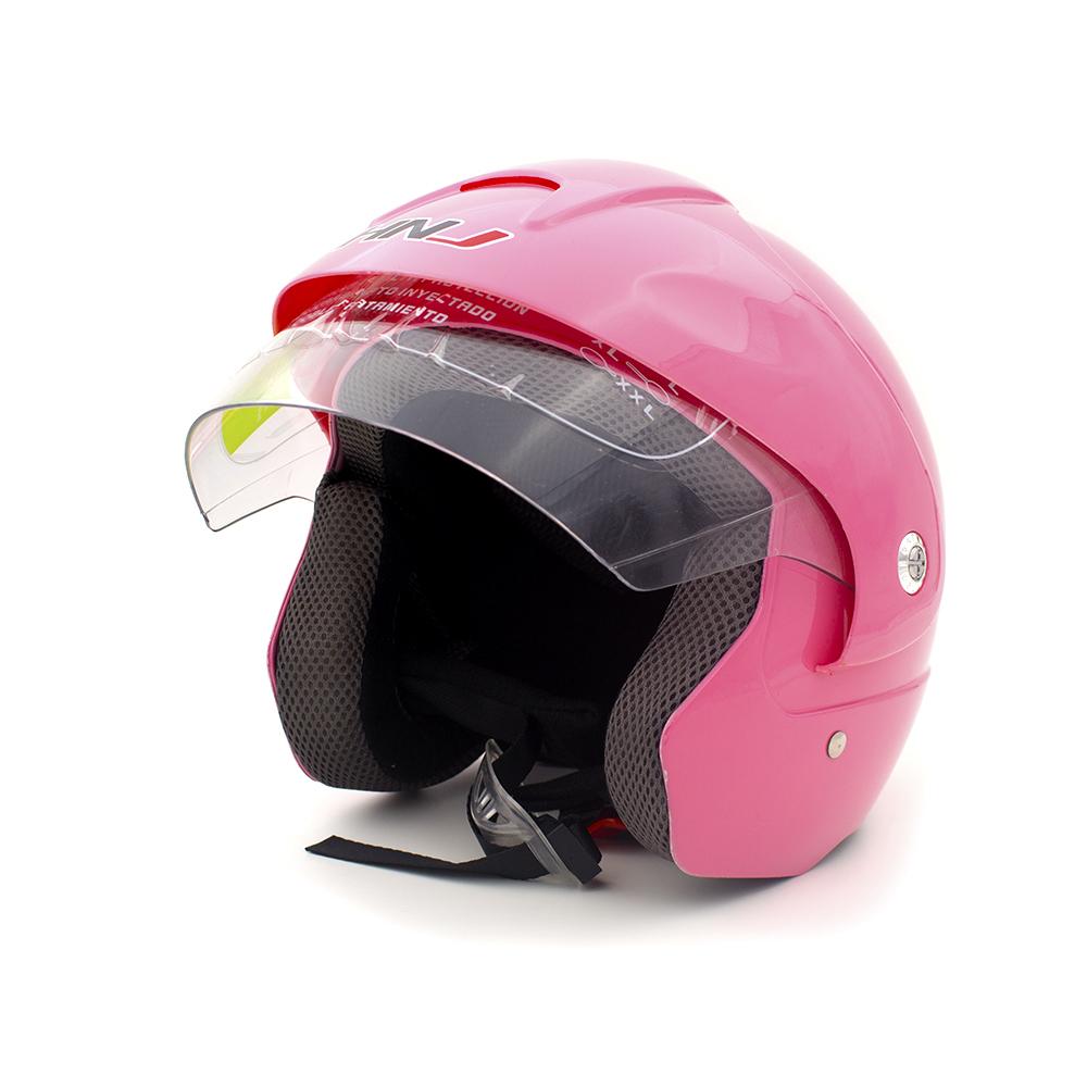 Motorcycle Lightweight Helmet HNJ-533M (Pink) HN533PM