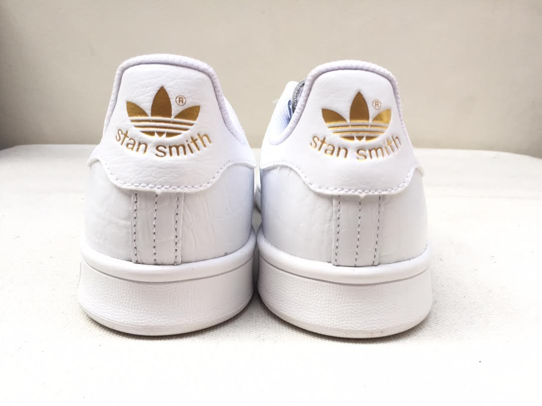 Adidas Stan Smith White With Gold
