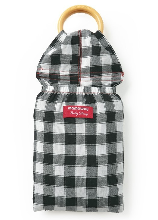Mamaway Gingham Chunky Baby Ring Sling 59949 (Freesize)