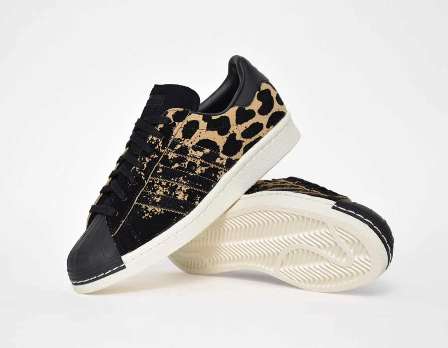 adidas superstar leopardo