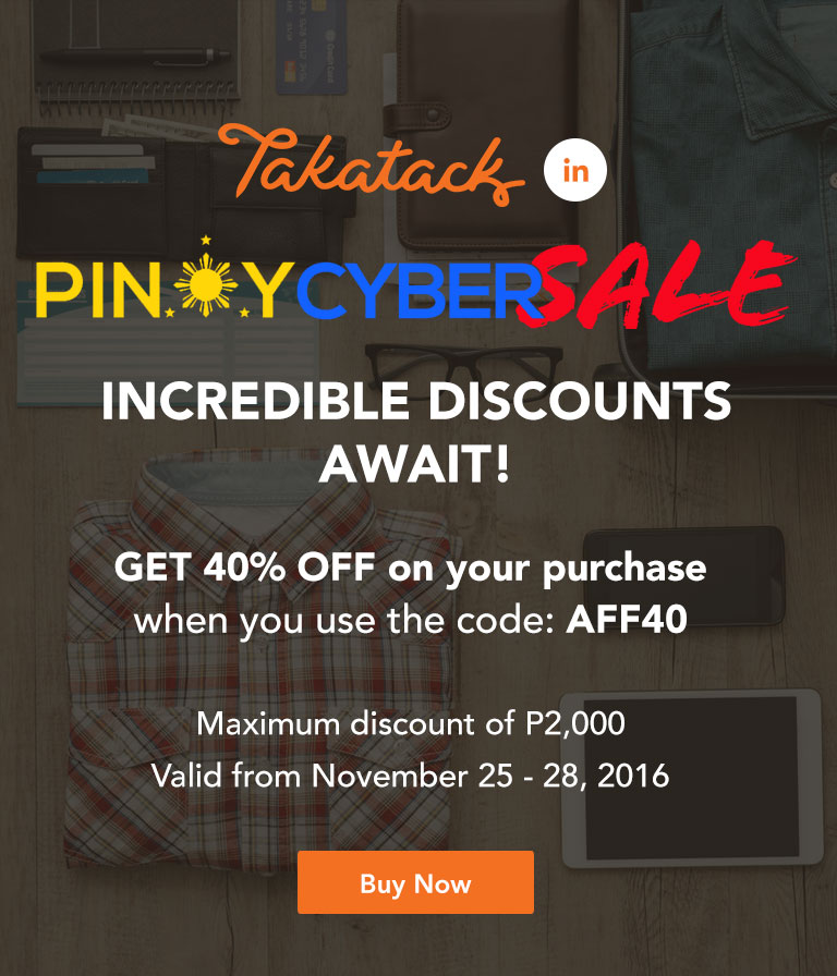Pinoy Cyber Sale Use Code: AFF40