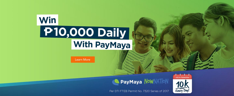 Paymaya 10K Promo