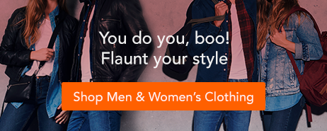 Shop Men & Women's Clothing