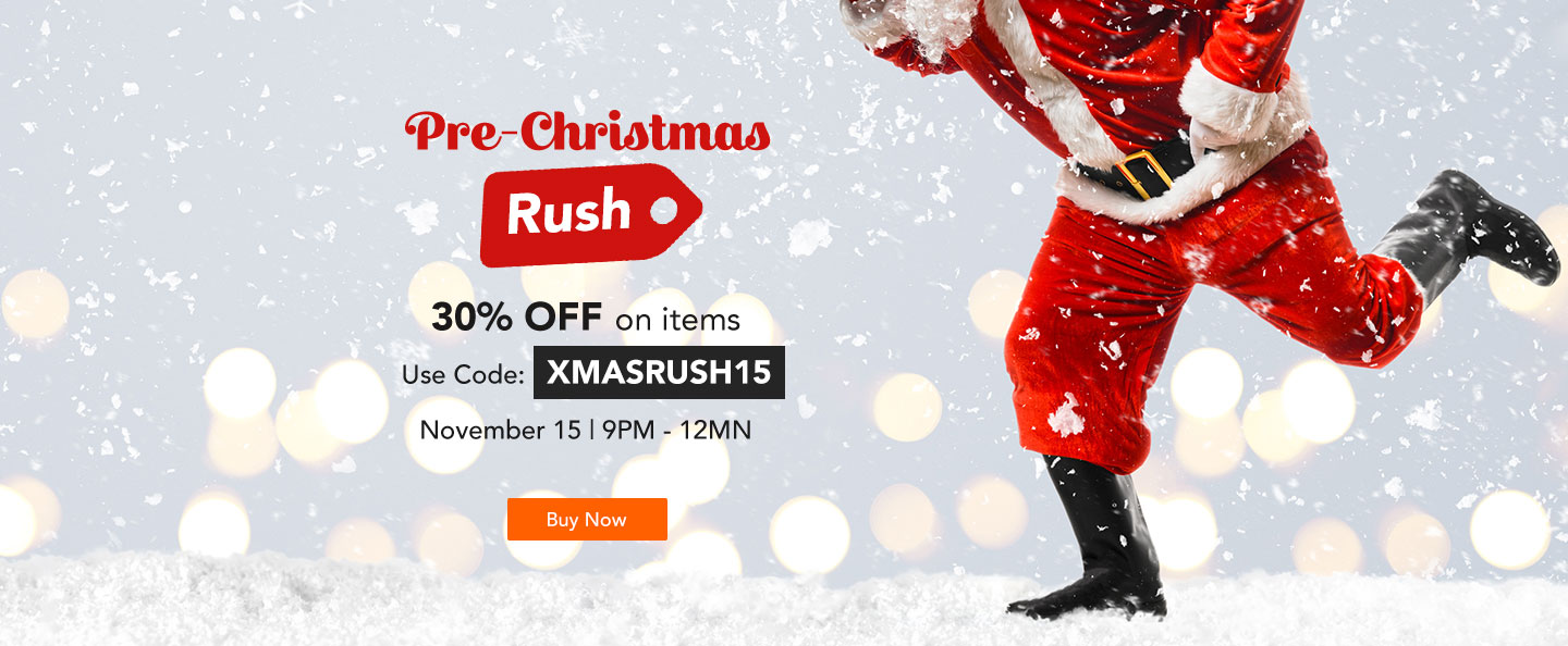 Payday Rush Hour Sale: Christmas Shopping for Men and Women