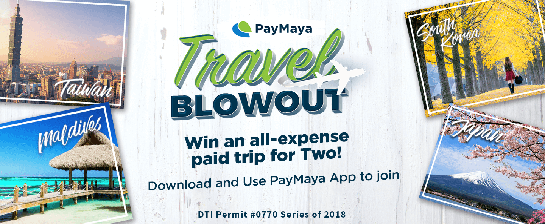 PayMaya Travel Blowout Sale