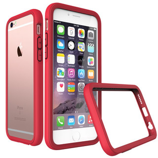 Rhino Shield Crash Case for Apple iPhone 6/s Plus- Red