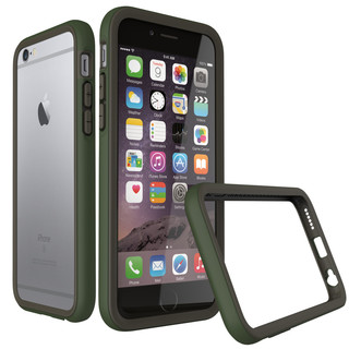 Rhino Shield Crash Case for Apple iPhone 6/s Plus- Military Green