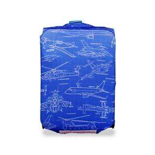 WANDERSKYE AIRPLANES LUGGAGE COVER