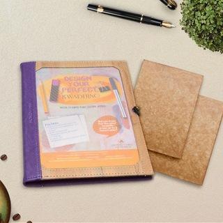 Jacinto & Lirio Pinto Medium Journal and 2 Medium Refills