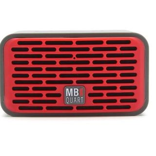 Qub Two Bluetooth Speaker (Red)