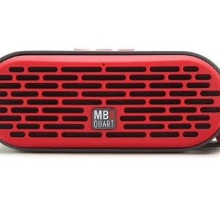 Qub Three Bluetooth Speaker (Red)