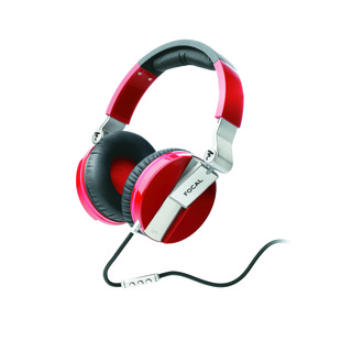 FOCAL SPIRIT ONE High-Fidelity Travel Headphones (Red)
