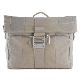 National Geographic Midi Messenger P2120 - Dirty White