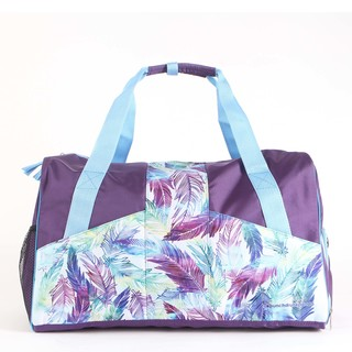 Feather Duffle Bag