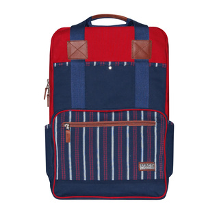JOVEN BACKPACK - BLUE AND RED
